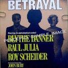 BETRAYAL ~ '80 ORIGINAL NY Theatre Poster ~ BLYTHE DANNER / ROY SCHEIDER / HAROLD PINTER