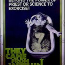 THEY CAME FROM WITHIN / FRISSONS / PARASITE MURDERS ~ '76 Orig 40x60 Movie Poster ~ DAVID CRONENBERG