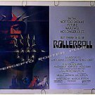ROLLERBALL ~ '75 Half-Sheet Sci-Fi Sports Movie Poster ~ JAMES CAAN / JOHN HOUSEMAN / JOHN BECK