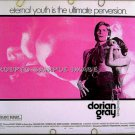 DORIAN GRAY ~ Sexy '71 AIP Half-Sheet Movie Poster ~  Gay Interest / HELMUT BERGER / HERBERT LOM