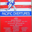 PACIFIC OVERTURES ~Original '76 NY Musical Theater Poster ~ STEPHEN SONDHEIM / HAROLD PRINCE / MAKO