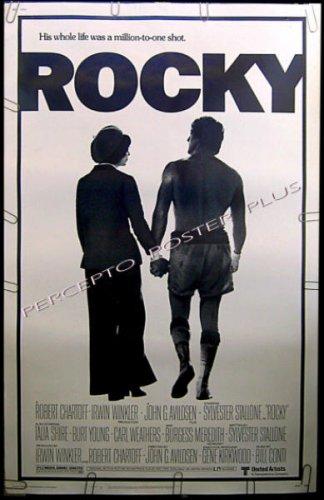 ROCKY ~ '77 Rare Size BOXING CLASSIC 40x60 Movie Poster ~ SYLVESTER STALLONE / TALIA SHIRE