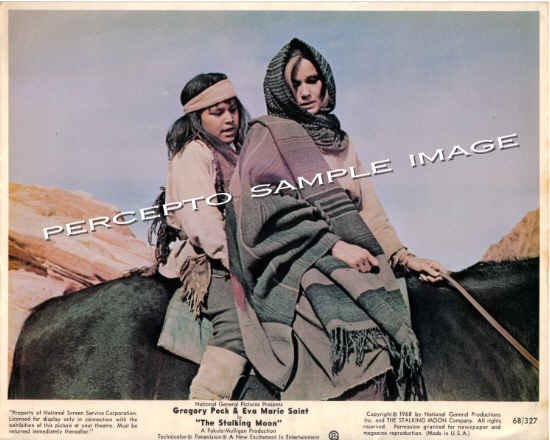 "THE STALKING MOON ~ Orig '68 Color 8X10"" Western Movie Photo ~ EVA MARIE SAINT"