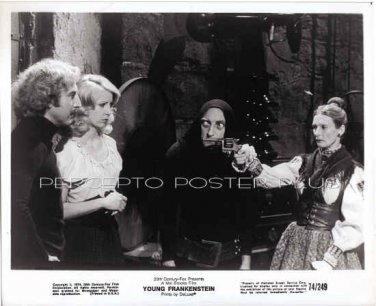 YOUNG FRANKENSTEIN ~ Orig '74 Movie Photo ~ GENE WILDER / /CLORIS LEACHMAN / MEL BROOKS