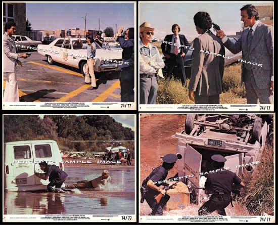The TAKE ~ LOT of 4 Original '74 Action Movie Photos ~ BILLY DEE WILLIAMS / FOUR PHOTOS