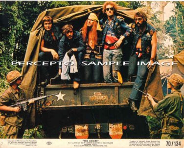 The LOSERS ~ Original '70 BIKER GANG Movie Photo ~ WILLIAM SMITH / MOTORCYCLE GANG