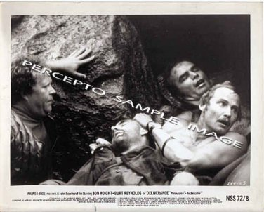 DELIVERANCE ~ Original '72 Movie Photo ~ JON VOIGHT / BURT REYNOLDS / NED BEATTY / OUTDOOR ORDEAL