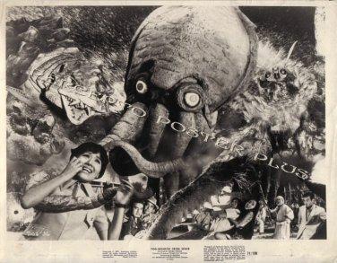 YOG MONSTER FROM SPACE ~ Original '71 Monster Movie Photo ~ ISHIRO HONDA / MONSTERS ATTACK!