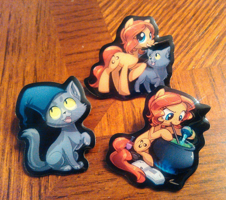 Larson Cat Pin - Limited Edition