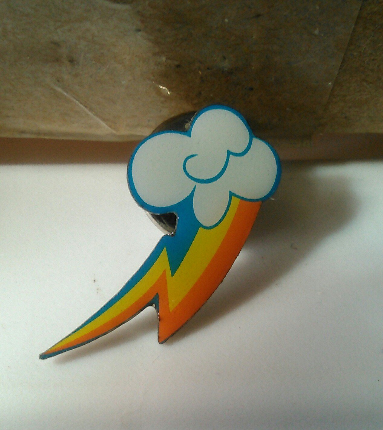 Rainbow Dash CM Pin