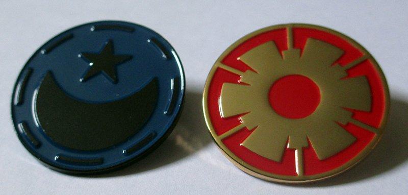Faction Pin Set