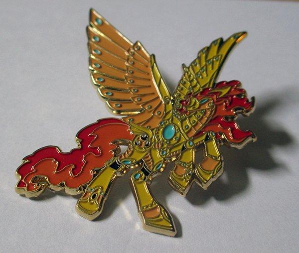 Mecha Alicorn Pin