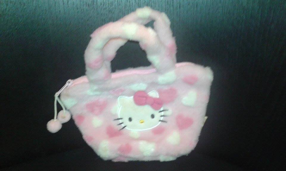 Hello Kitty fluffy Handbag