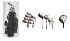 Pro Concepts 17 Piece Men's Golf Set Combo