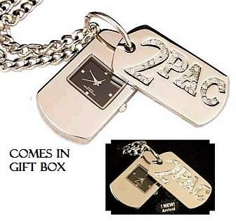 2Pac Hip-Hop Dog Tags - NEW TO MARKET