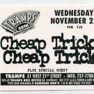 Cheap Trick 1995 Tramps NYC Concert Handbill