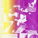 The Jesus and Mary Chain 1986 Santa Monica Concert Poster