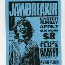 Jawbreaker 1995 Irving Plaza NYC Punk Concert Flyer Handbill