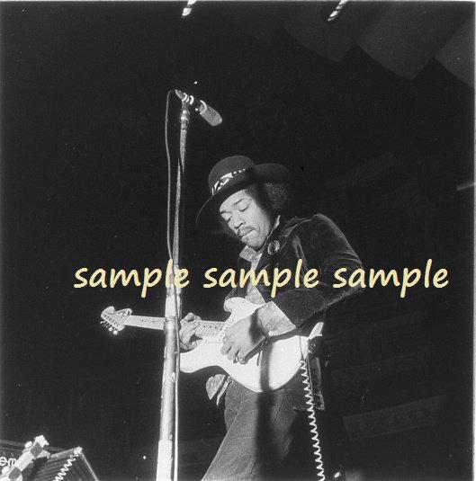 Jimi Hendrix 1969 London Soundcheck Concert Photo #2 FREE SHIPPINNG!