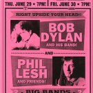 Bob Dylan Phil Lesh 2000 Concert Tour Handbill Poster