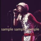 Rolling Stones Mick Jagger 1972 Madison Square Garden Concert Photo 8x10 FREE SHIPPING!
