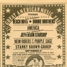 Beach Boys J.Starship America Doobie Brothers 1975 NY Newspaper Concert AD