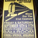 Chris Duarte Group 1999 Arkansas Concert Poster