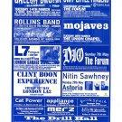 DIO Mojave 3 Henry Rollins 2000 UK Concert Flyer