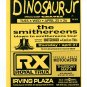 Dinosaur Jr Smithereens Sponge Everclear 1995 NYC Concert Handbill
