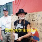 Willie Nelson 1999 Woodstock Offstage 8x10 Photo