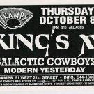 KING'S X 1998 Tramps NYC Concert Handbill