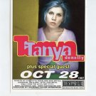 Tanya Donelly 1997 Supper Club NYC Concert Handbill