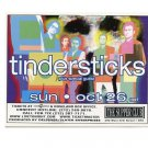 Tindersticks 1997 Supper Club NYC Concert Handbill