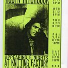 Robyn Hitchcock 1997 Knitting Factory NYC Concert Handbill Flyer Card
