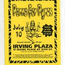 Porno For Pyros 1996 Irving Plaza NYC Concert Handbill Flyer