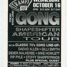 GONG 1996 Tramps NYC Concert Handbill Card
