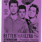 Better Than Ezra 1998 Tramps NYC Concert Handbill Card