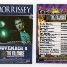 MORRISSEY 2007 Fillmore Miami Beach Grand Opening Concert Handbill Card