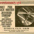 JEFFERSON STARSHIP 1974 Radio City Music Hall NYC Concert AD