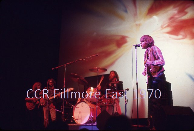 CCR Creedence Clearwater Revival 1970 Fillmore East 8x10 Concert Photo FREE SHIPPING!