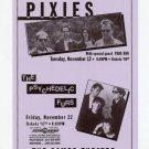 Psychedelic Furs Pixies Pere Ubu 1991 Miami Beach Concert Handbill