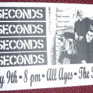 7 Seconds 1993 Florida Punk Concert Flyer Handbill