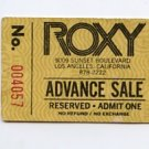 Jean-Luc Ponty 1976 Roxy Los Angeles Concert Ticket Stub