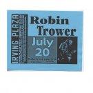 Robin Trower 2000 Irving Plaza NYC Concert Handbill