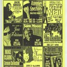 Jack Bruce 2001 B.B. King Club NYC Concert Flyer Handbill