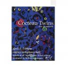 Cocteau Twins 1994 San Diego Concert Calendar Card