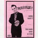 Morrissey 2000 Bren Events Center UC Irvine Concert Handbill
