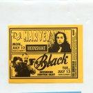 P.J. Harvey Frank Black 1993 Warfield SF Concert Handbill
