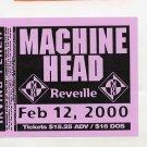 Machine Head Stereolab Bob Mould 2000 Irving Plaza NYC Concert Handbill