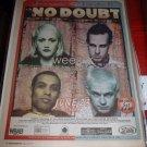 U2 Pop Mart Tour '97 Giants Stadium  Full Page Newspaper Concert AD No Doubt Weezer